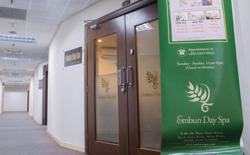 Embun Day Spa[Review]